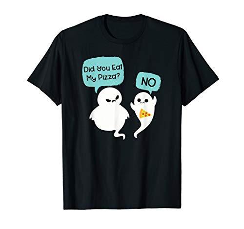 Haben Sie Eat My Pizza? Lustiger Geist Halloween T-Shirt