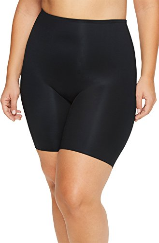 SPANX Plus Size Power Conceal-Her Mid-Thigh Short Very Black 1X