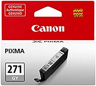 Canon CLI-271 Gray Ink Cartridge, Compatible to PIXMA TS9020 Printers, TS8020 Printers and MG7720 Printers
