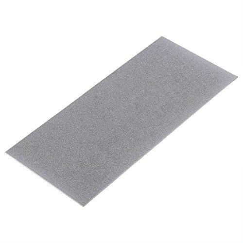 80-3000 Herramienta de cuchilla de piedra de diamante de rectángulo de grano Piedra de afilar de pulido fino de diamante profesional para herramienta de cocina(Grano 240)