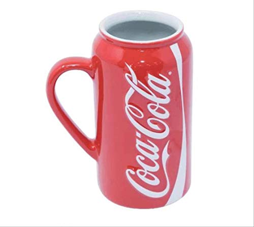 Creative COCACOLA Coke Limited Ceramic Mug Large Capacity Water Cup Coca-Cola Memorial Cup
