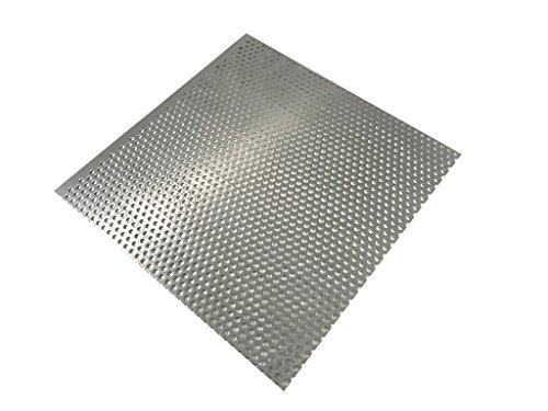 Lochblech 2mm Alu Alublech RV5-8 Aluminium Blechstreifen Aluplatte Größe wählbar (250x150mm)