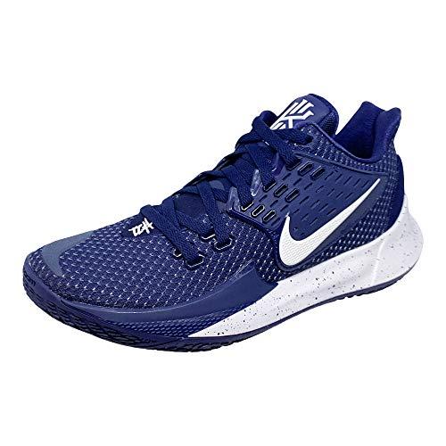 Nike Men's Kyrie Low 2 TB Midnight Navy/White-White, 12