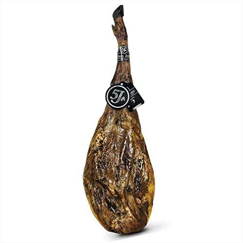Cinco Jotas Jamón Ibérico 100% Puro de Bellota ( Peso: 7,5 - 8,5kg aprox.) Jamón Pata Negra. Auténtico jamón de Bellota. Jamón de Jabugo