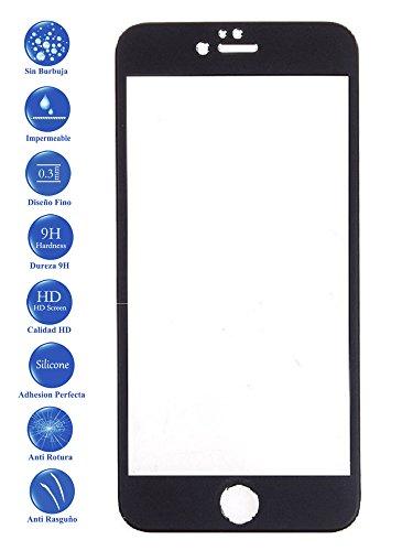 Todotumovil Protector de Pantalla iPhone 7 Plus Negro Completo 3D Cristal Templado...