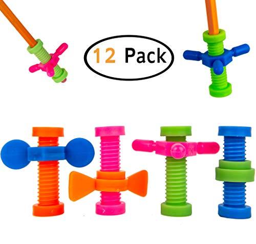 B-KIDS Pencil Fidget Toy Spinner (12 Pack)