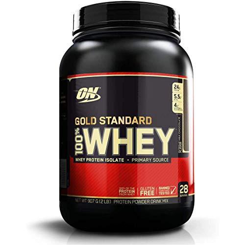 オプティマムニュートリション Gold Standard 100% ホエイ エクストリーム ミルクチョコレート 907g 2lb