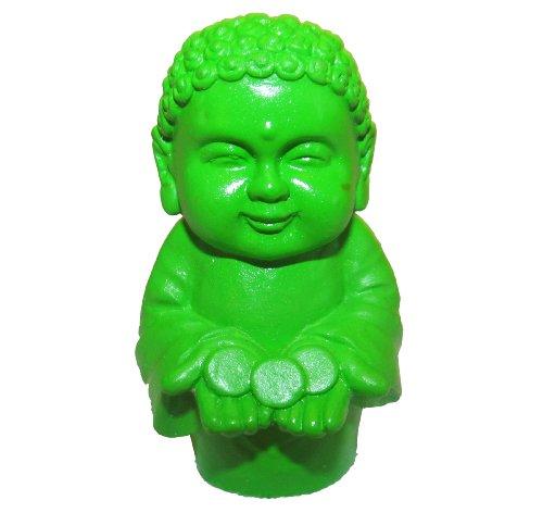Whinycat Pocket Buddha Green Prosperity Buddhism Mini Figure Figurine Toy