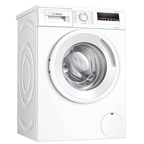 Bosch WAN24208FF EcoSilence Drive - Lavadora de mano serie 4 frentes (8 kg, 1200 rpm, 55 l, fino diferido 24 horas), color blanco