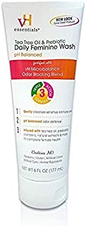 vH essentials Intimate Feminine Wash - pH Balanced with Tea Tree Oil, Cranberry, Prebiotics, Lavender, and Chamomile- 6 Fluid Ounce (3)