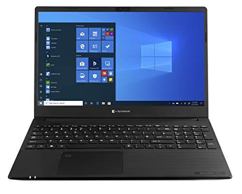 Toshiba Dynabook Satellite Pro L50-G-15Q Portátil Negro 39,6 cm (15.6') 1920 x 1080 Pixeles 10ª generación de procesadores Intel CoreTM i3 8 GB DDR4-SDRAM 512 GB SSD Wi-Fi 6 (802.11ax) Windows 10 Pro
