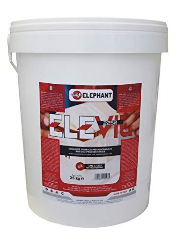 Elevil 2252 | D3 Vinyl Lijm voor Hout – Professionele Super Lijm 25 kg Transparant