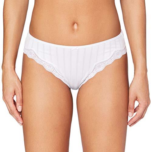 Calida Etude Toujours Damen Slip, Blanco (Weiss 001), 38 (Talla del Fabricante: M) para Mujer