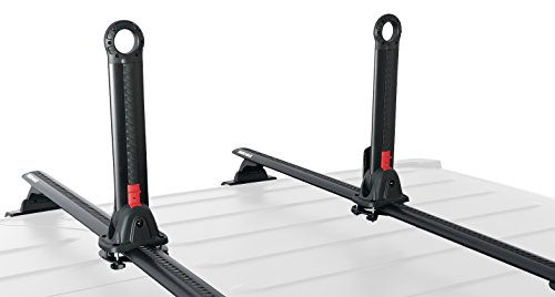 Rhino Rack Kayak & Canoe Nautic Stack Carrier, Folding Upright with Universal Mounting Bracket for Most Roof Racks; for All Vehicles; 4WD, Pick Up Trucks, SUV's, Wagon's, Sedan's; Includes Straps