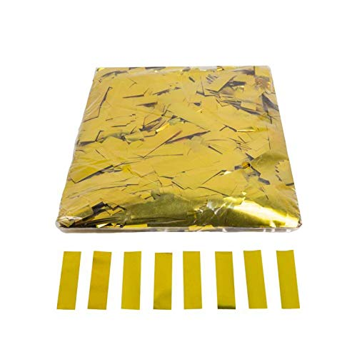EUTOPICA Confeti Rectangular Brillo 2x5 cm. | Bolsa 1 kg. (D