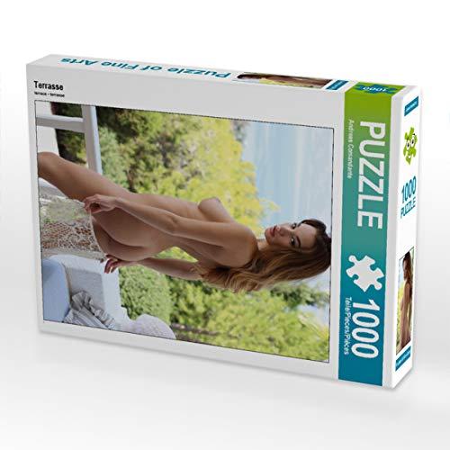 CALVENDO Puzzle Terrasse 1000 Teile Lege-Größe 48 x 64 cm Foto-Puzzle Bild von Andreas Comandante