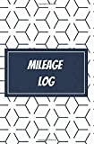 Mileage Log: logbook to keep track of your vehicle's mileage | professional or personal | gift | 100 pages | 5,25 x 8 inches