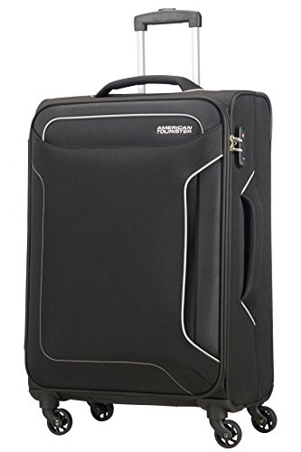 American Tourister Holiday Heat Spinner, 3.2 kilograms Koffer, 67 cm, 66 Liter, Black