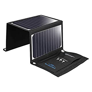 BlitzWolf 20W/3A Solar Charger Portable Dual USB Port SunPower Battery Charger for All Cellphone iPhone X 8 7 6 6s Plus, Samsung Galaxy S8 S7 S6 Note 4 5, Sony Xperia (Over 21% SunPower Conversion) (B018QOYF6G) | Amazon price tracker / tracking, Amazon price history charts, Amazon price watches, Amazon price drop alerts