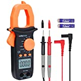 RuoShui Digital Clamp Meter, True RMS 2000 Counts Multimeter, Auto-Ranging Voltage Tester with LCD Backlight Display