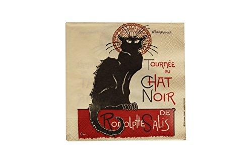 Kom Amsterdam Servetten Chat Noir