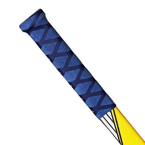 Advanced Hockey Schlägergriff für Eishockeyschläger, Einheitsgröße für Jugendliche und Erwachsene, tolle Alternative zu Hockey-Tape (blau)
