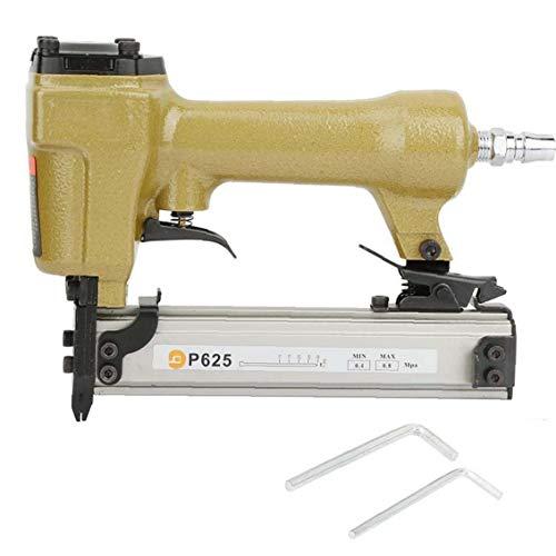 Aire Pin Clavadora Grapadora neumática P625 10-25mm clavo de la herramienta eléctrica para trabajar la madera Mueble de casa