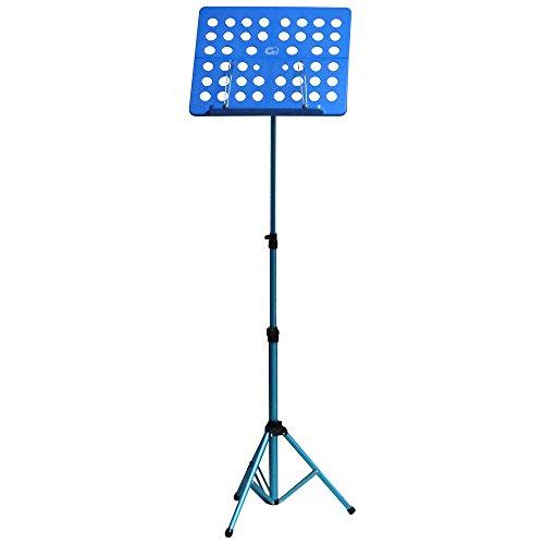 GID ( ジーアイディー/ジッド ) GL-05 BLU (BLUE) 軽量折り畳み式譜面台 オーケストラタイプ Foldable Small Music Stand 専用キャリングケース付