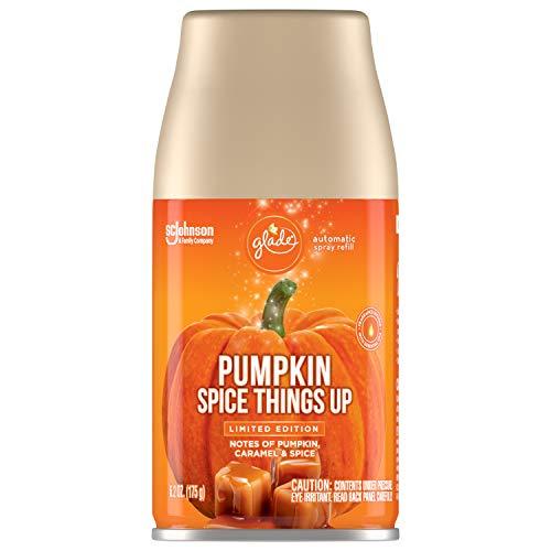 Glade Automatic Spray Refill, Air Freshener for Home and Bathroom, Pumpkin Spice, 6.2 Oz