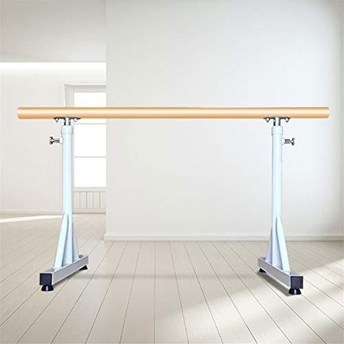 Ballet Barre,Home Mobile Ballet Bar,Adjustable Dancing Stretching Ballet for Home Fitness Gymnastics,80~120CM (Color : White, Size : 1.5M)