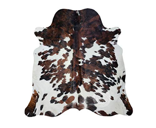 Alfombra de Piel de Vaca Tricolor 190 x 160 cm - Pieles...