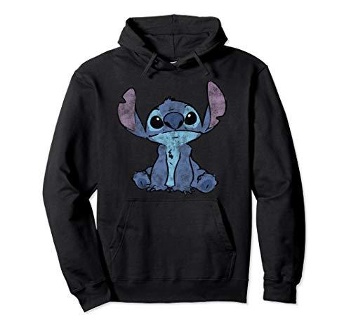 Disney Lilo & Stitch Sit Down Chalk Fill Pullover Hoodie