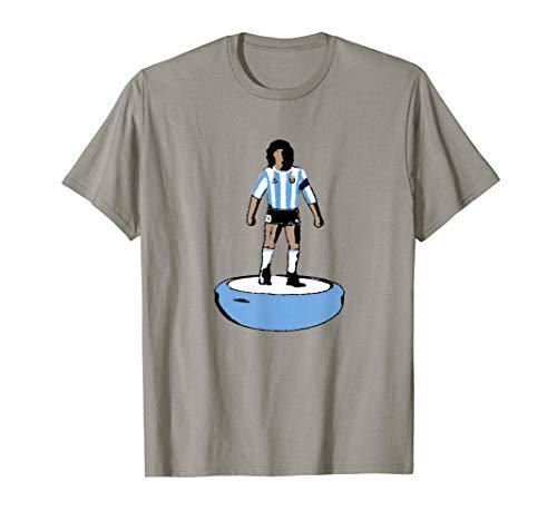n.10 Argentina Campione del Mondo 1986 giocatore Subbuteo Maglietta
