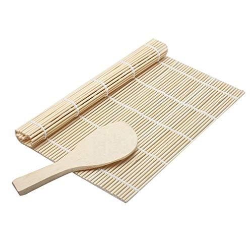 tianxiangjjeu Bamboe Sushi Roll maken schimmel rijst Paddle Roller anti-aanbak veiligheid Keuken Gereedschap multi