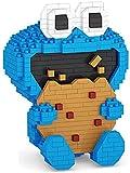 RSVT Figuras De Anime Clásico México 3D Mini Bloques Nano Ladrillos Juguetes para Niños,Azul