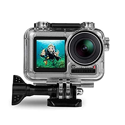 FitStill Housing Case for DJI Osmo Action Camera Waterproof Case 45M Diving Housing Protective Shell Case from FitStill