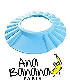 Ana Banana Paris : Visière de Bain pour Shampoing (Bleu)
