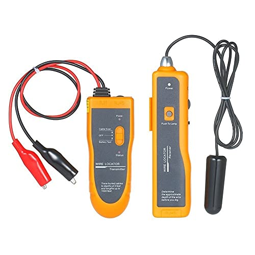 Localizador de cables subterráneo Instrumento de detección de cable subterráneo Buscador de línea de cableado