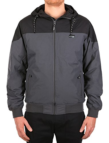 IRIEDAILY Jacke Men INSULANER Jacket Anthracite, Größe:S