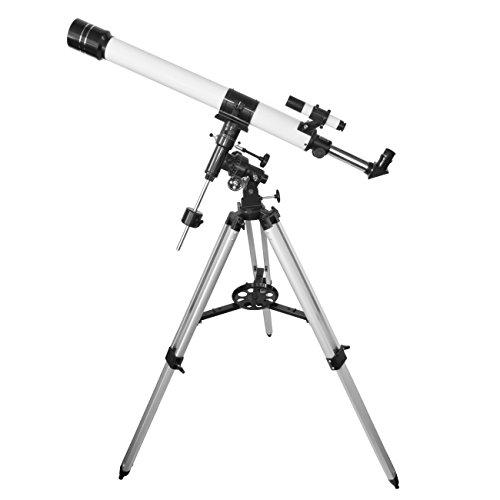 TS-Optics 70/900 EQ3-1 Teleskop Komplettset für Einsteiger Fernrohr mit viel Zubehör Mondfilter Okulare vergüteter Optik, Jupiter