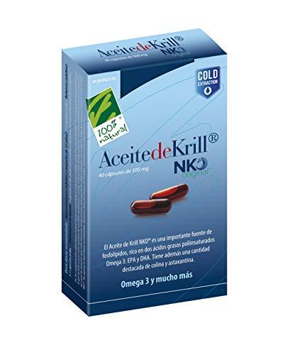 100% Natural ACEITE DE KRILL NKO 40 caps. - 50 gr