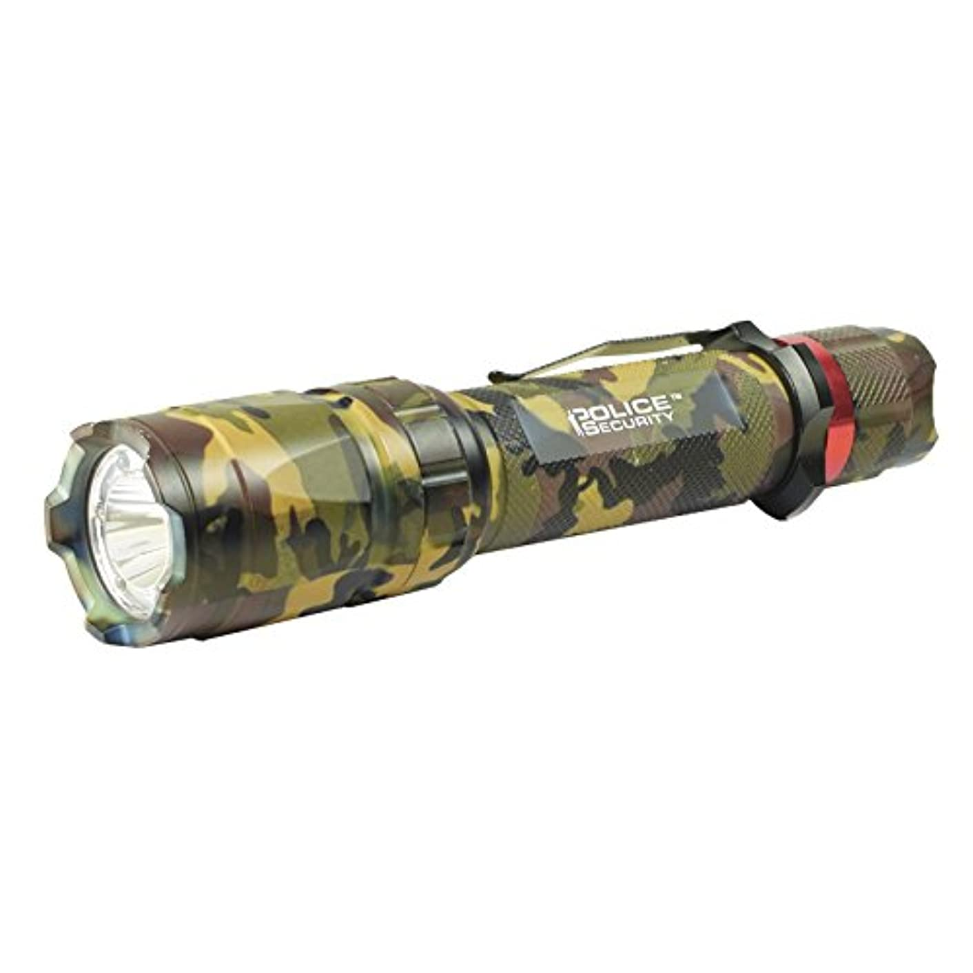 Police Security Trac Tact 2AA Camouflage Cree LED Ultra Bright Blood Tracker Night Vision Flashlight