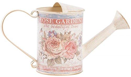 AVENUELAFAYETTE Arrosoir métal décor Roses - 30 cm