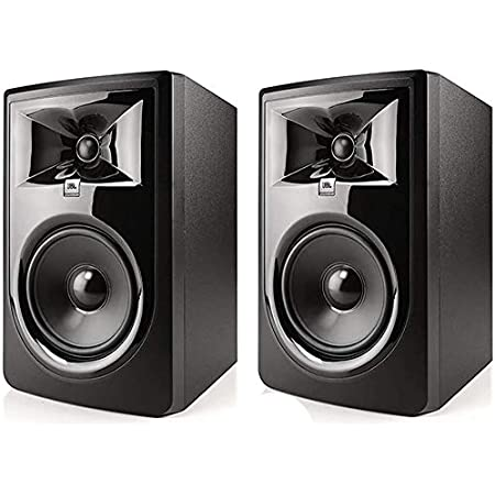 JBL Professional 305P MkII Next-Generation 5-Inch 2-Way Powered Studio Monitor, Sold as Pair