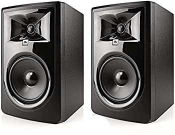 JBL Professional 305P MkII Next-Generation 5-Inch 2-Way Powered Studio Monitor Sold as Pair  305PMKIISET
