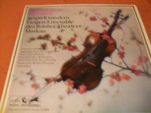 Weltbekannte Melodien gespielt von dem Geigen Ensemble des Bolshoi Theaters Moskau