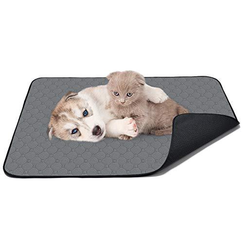 FurPaw Alfombras Entrenamiento Perros Empapadores Alfombrilla Extra Grande para Cachorros Gatos Mascotas - L, 88 x 77 cm (34,65 x 27,56 in)