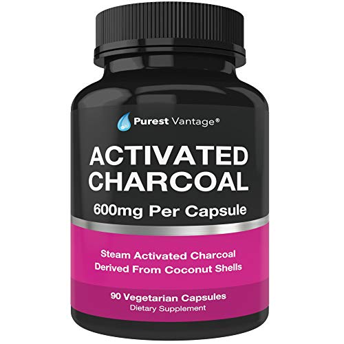 Pure Organic Activated Charcoal Capsules
