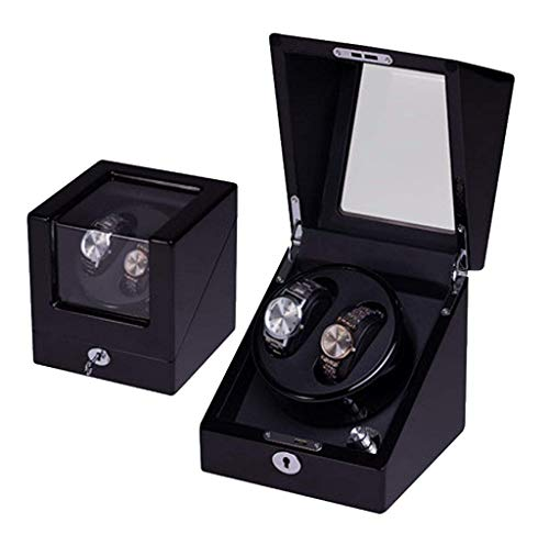 Automatic Watch Winder Box Watch Winder Dual Watch Winders Leather Storage Display Watch Winder Case Automatic Rotation Winders(2+0,2+3,4+0,4+6)
