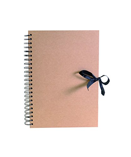 Artemio Scrapbooking Spiralalbum A4 Kraft, 23,5 x 3 x 30,5 cm